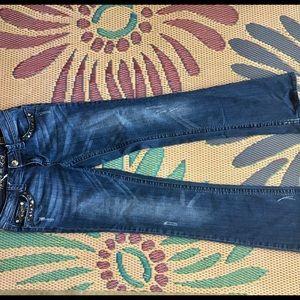 Like new, Grace in LA jeans size 28